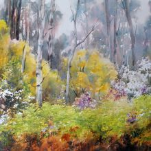 The third painting of Marysville Forest